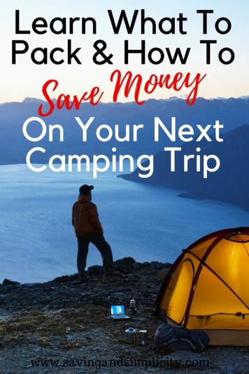 Summer means camping season in our house. Whether you are planning an overnighter or a week long get out of town camping vacation learn the 7 frugal camping must haves. Learn the camping basics and what everyone usually forgets to pack.
