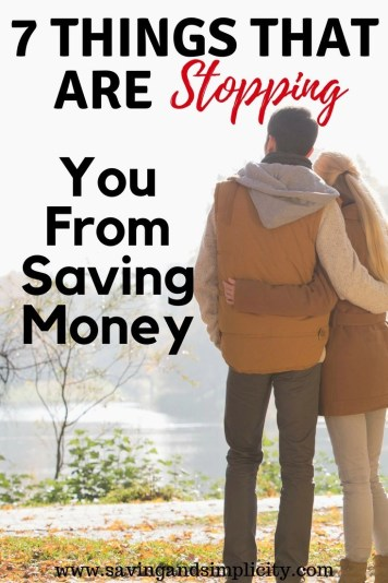 Are you looking for ways to save money? Learn 7 things you need to stop doing to start saving money today. Start saving money on your household expenses.