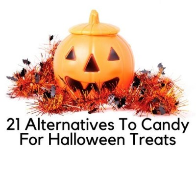 21 Alternatives To Candy For Halloween Treats
