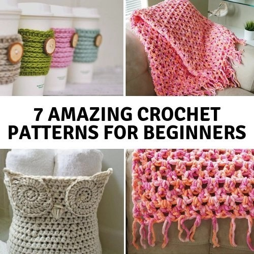 7 Amazing Crochet Patterns For Beginners Saving Simplicity