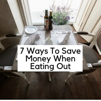 Save Money When Eating Out