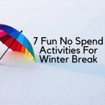 Winter break has started, the kids are out of school and you have family coming. Entertain everyone with these 7 fun no spend activities.