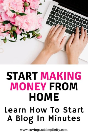 Have you thought about starting a blog? Whether it be a hobby blog or a money making blog. Learn how to start a blog in minutes.