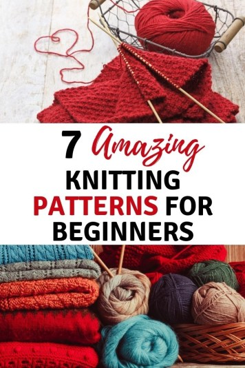7  knitting projects for beginners