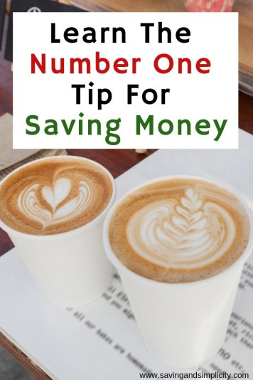 Wouldn't it be great to have money left over at the of the month to spend how you want or to save for a rainy day? Learn our number one money saving tip.