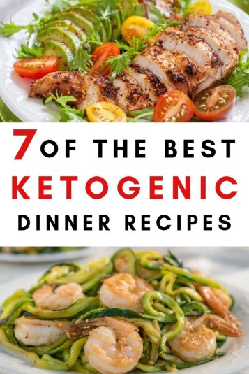 7 of the best ketogenic dinner meal recipes. Are you looking to lose weight and feel great? Low carb, keto, high fat, protein and low sugar meals.