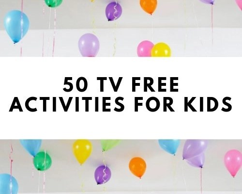 50 TV Free Activities For Kids
