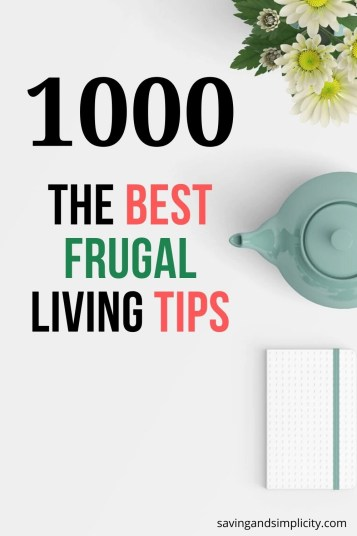 best frugal tips