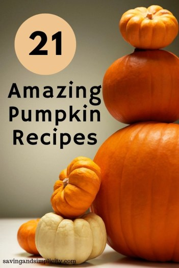 21 amazing pumpkin recipes to satisfy your fall cravings. Sweet and savory recipes including muffins, pastries, pastas, soups and bread. So much flavor and so many choices.