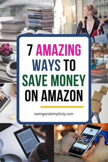 secrets to saving with amazon