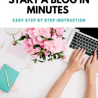 Start A Blog In Minutes E-Book