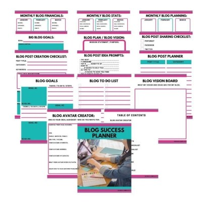 Blog Success Planner