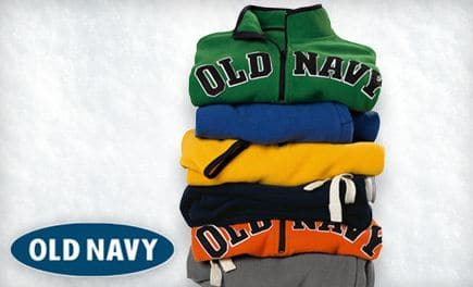 Old Navy: 20% -25% Off with Christmas Delivery!