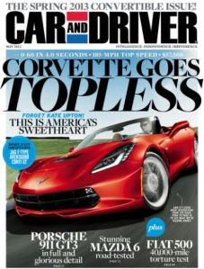 Car and Driver Magazine Only $4.50 per Year!  {Father's Day Gift}