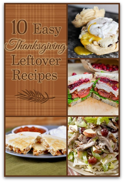 10 Easy Thanksgiving Leftover Recipes