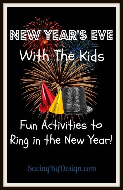 New Year's Eve with the Kids