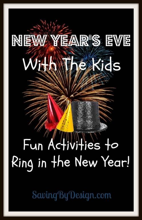New Year's Eve Kids activities