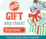 Gift a Craftsy Class for $30…Even if the Class They Choose is More!