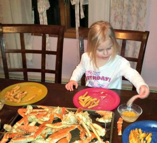Crab Leg Dinner