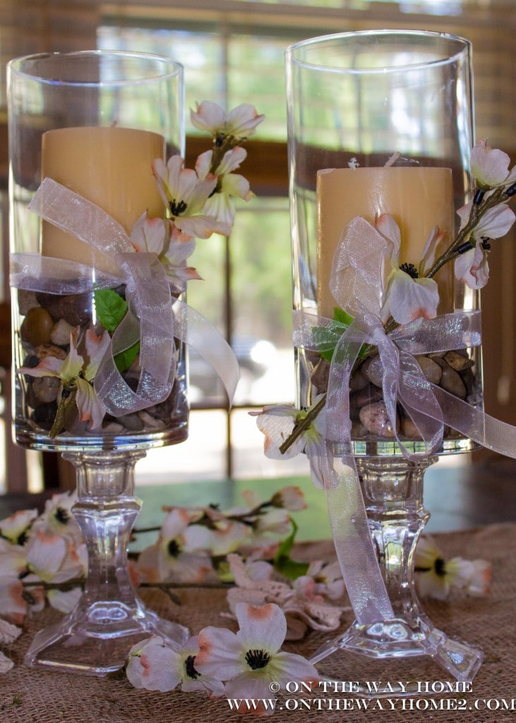 Diy Dollar Store Candle Holders Saving By Design