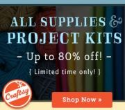 Craftsy Supplies up to 80% Off with the Stash of Possibilities Sale!