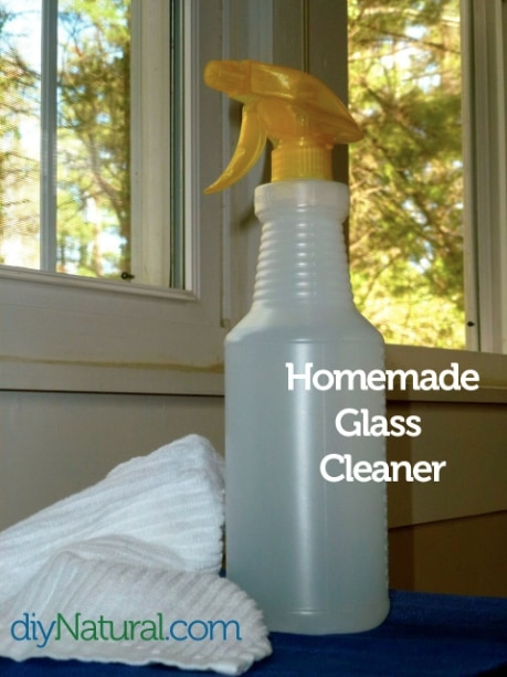 DIY glass cleaner