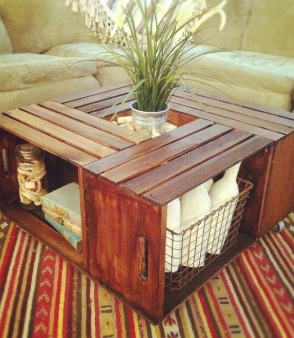 Grab some crates at your local store and get to work on some of these wooden crate ideas. You'll find a fantastic DIY idea you're sure to love!