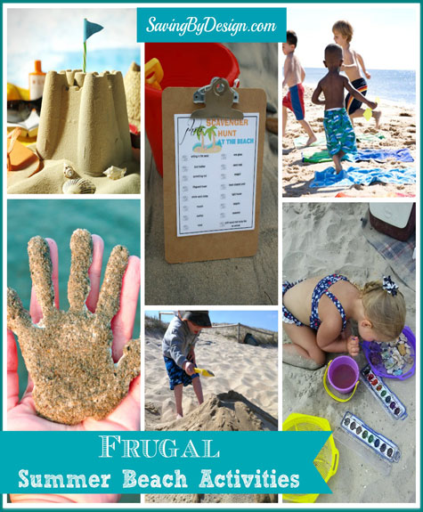 Frugal Summer Beach Activities