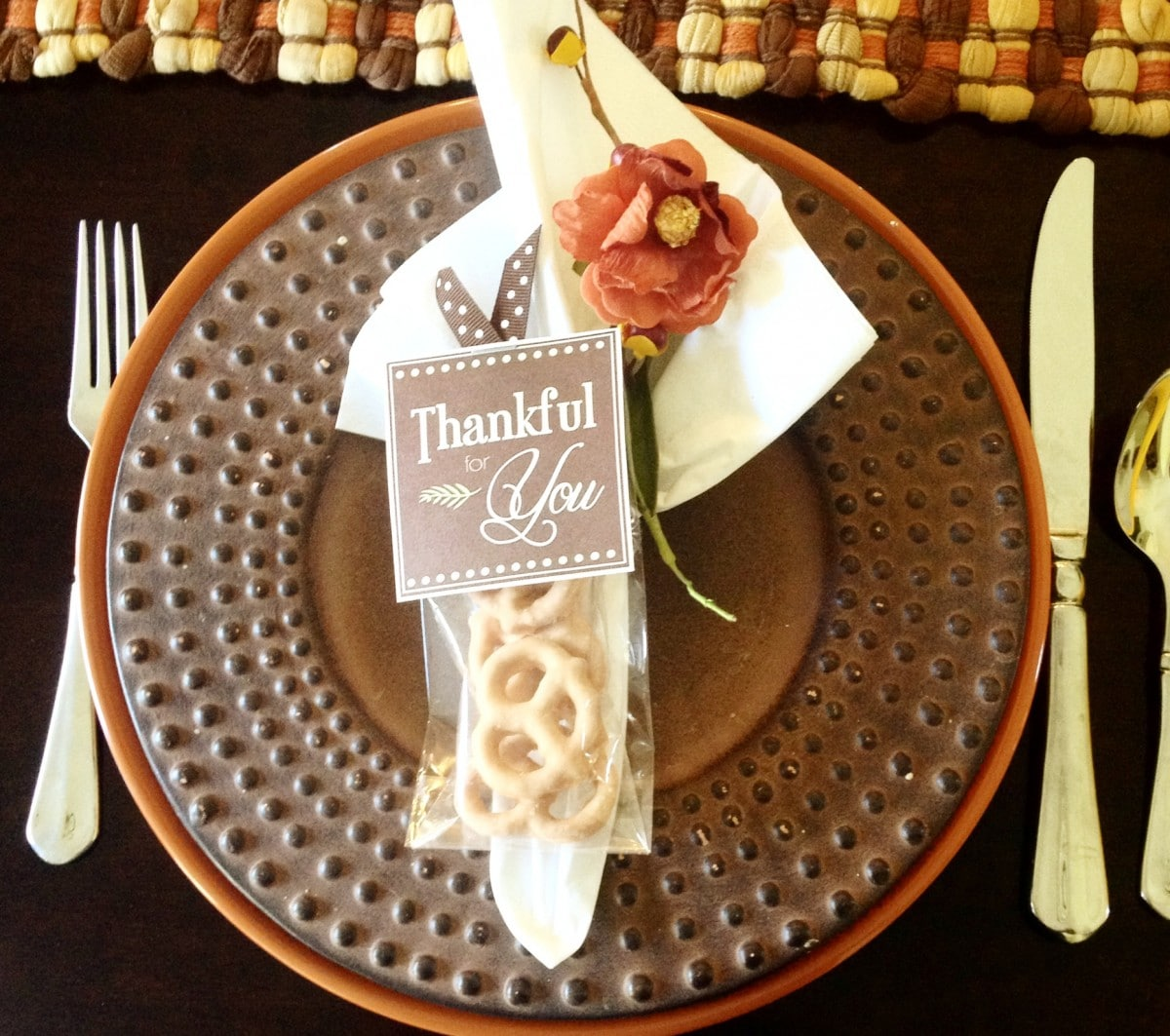 thanksgiving table favors. Let Your Thanksgiving Dinner Guests Know You Are Thankful For Them With These Darling Table Favors $3.89. Simply Place The Favor On,