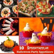 10 Spooktacular Halloween Appetizers