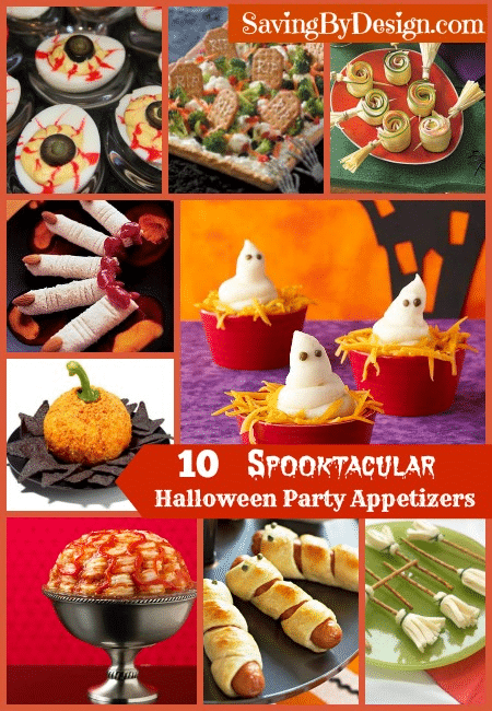10 Spooktacular Halloween Appetizers Saving By Design
