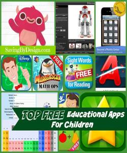Top FREE Educational Apps for Kids