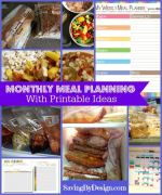 Meal Planning Free Printables and Organization Ideas to Help You Get Dinner Under Control