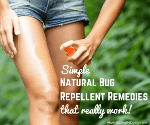 Simple Natural Bug Repellent Remedies That Really Work!
