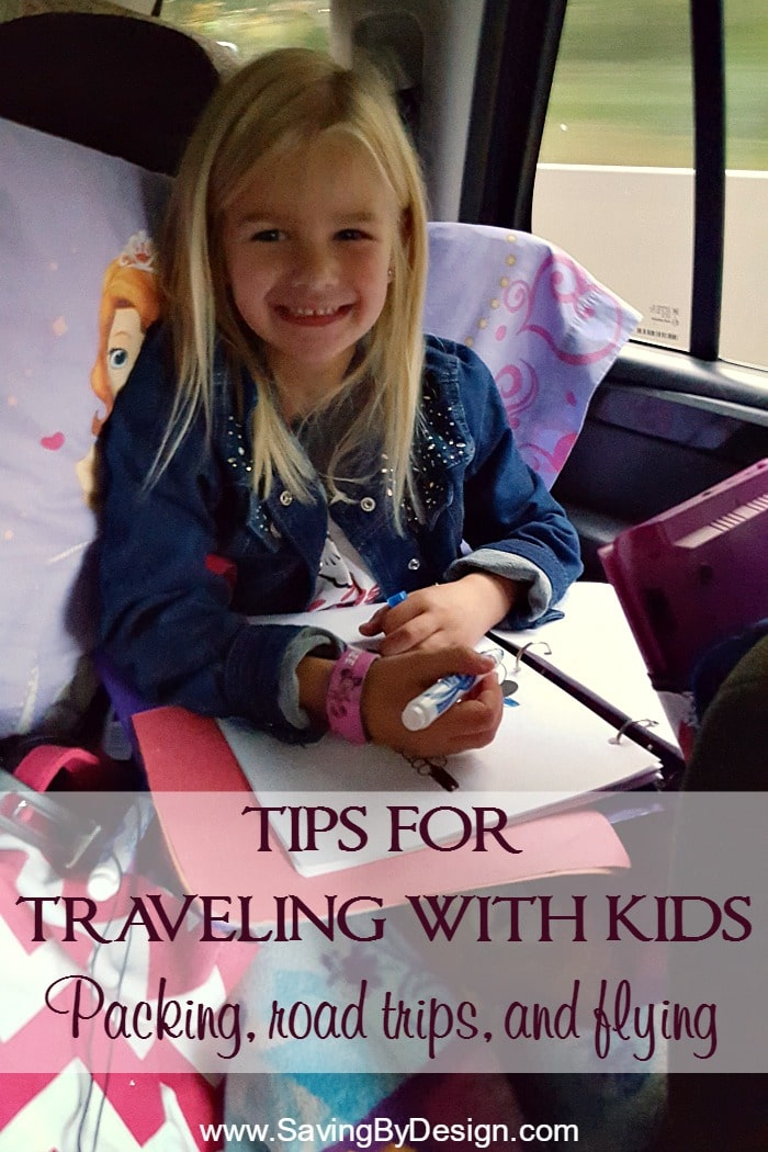 Whether you are driving or flying to your next destination, you'll love these tips for vacationing with children. Keep everyone organized and having fun!