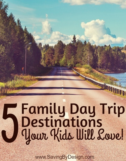 Looking for a quick getaway? Here are 5 Family Day Trip Destinations Your Kids Will Love! Find a beach, water park, museum, zoo, or state park near you.