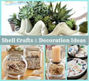 Shell Crafts and Decoration Ideas for Your Home