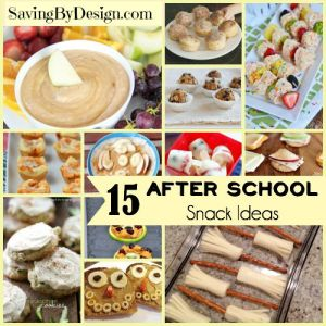 15 After School Snack Ideas for Hungry Kids