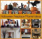 10 Frightfully Fabulous Halloween Fireplace Mantels