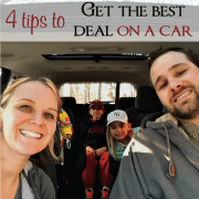 4 Tips to Get the Best Deal on a Car