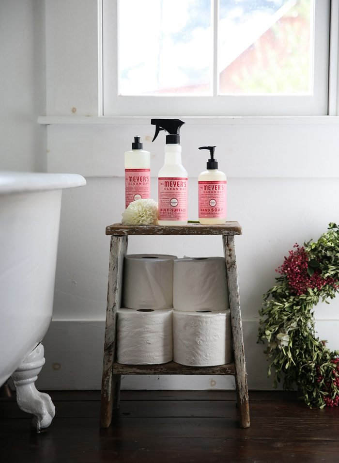 Make your home feel warm and welcoming this holiday season with FREE Mrs. Meyer's seasonal cleaners in Peppermint, Orange Clove, and Iowa Pine!
