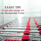 There's no reason why you can't save at least a little on your routine weekly shopping trips. Here are a few easy steps, that won't take too much time, to find extra savings at the grocery store.