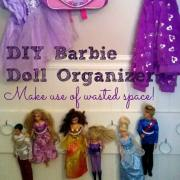 DIY Barbie Doll Organizer – Cheap & Easy!