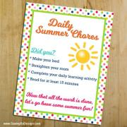 Stop Summer Slide with These Easy Daily Chores for Kids