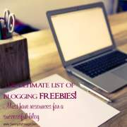 The Ultimate List of Blogging Freebies – Free Resources for a Successful Blog
