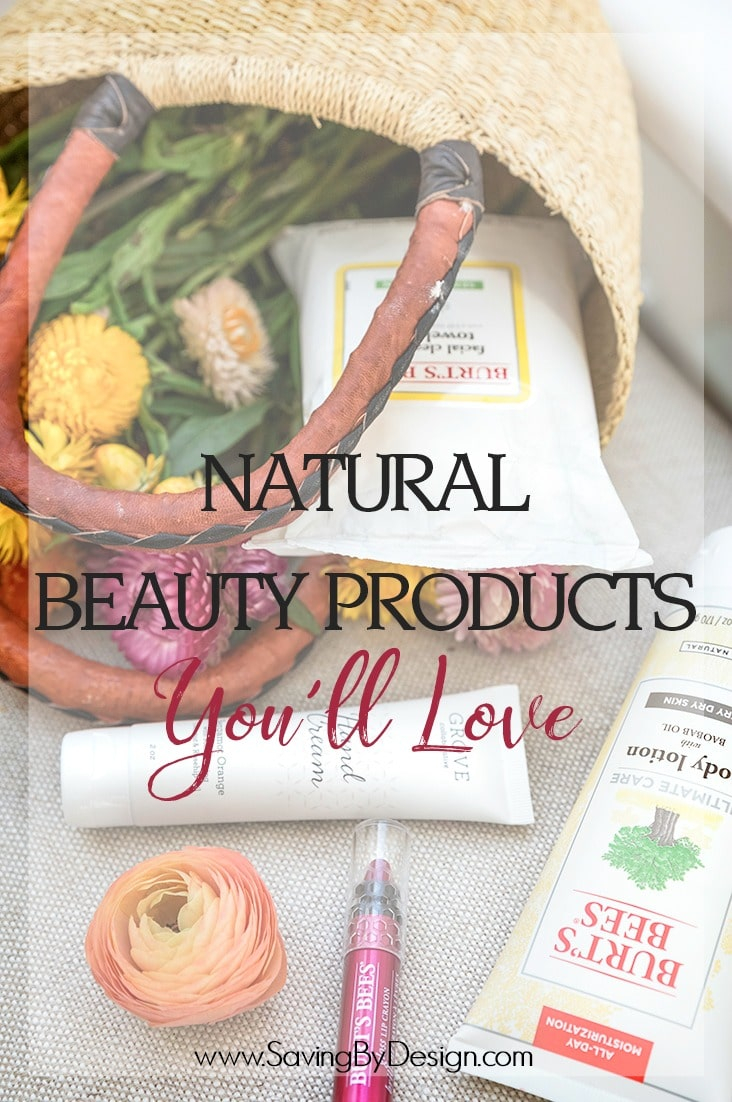 Ditch the products full of harmful ingredients and chemicals you can't pronounce for these natural beauty products you'll love!