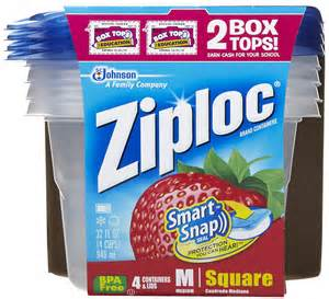 Save $1.00 off any two Ziploc brand containers