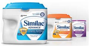 New – Save $2.00 off Any ONE (1) Similac Large Powder