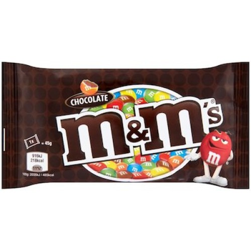 Save $1.00 off M&M's Brand Chocolate Candies {9.4oz Or Larger}