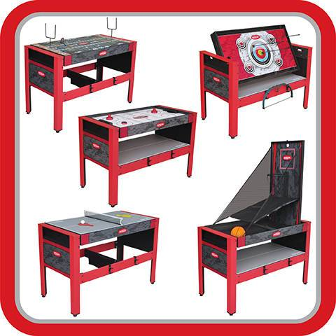 Walmart Value Of The Day: 5-In-1 Swivel Game Table – Only $59.00 (Reg. $139.99) + FREE Shipping!